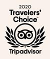 Logo 2020 Travelers'Choice - Tripadvisor